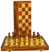 Kohl's WorldWise Imports Sheesham & Maple Folding Chess Set