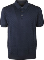 Corneliani Embroidered Polo Shirt