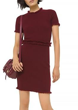 MICHAEL Michael Kors Fringe Trim Dress