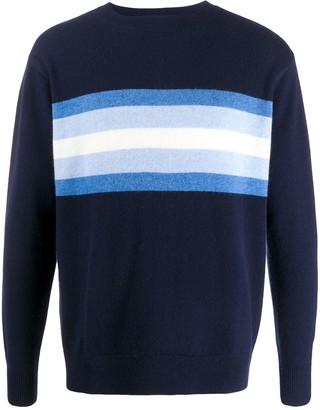 Leret Leret No. 7 striped cashmere jumper
