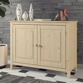 "Emely 44"" Wide Pine Wood Sideboard Rosalind Wheeler"