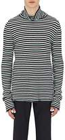 Maison Margiela Men's Striped Linen Turtleneck Sweater