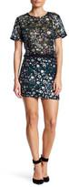 Endless Rose All Over Sequined Mini Skirt
