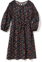 Old Navy Cinched-Waist Floral Dress for Girls
