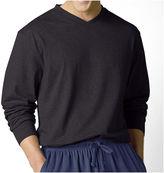 JCPenney Stafford Knit V-Neck Sleep Shirt -Big & Tall