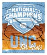 NCAA University of North Carolina 2017 Basketball Champions HD Silk Touch Throw Blanket