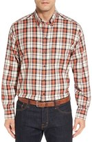 Cutter & Buck 'Upland' Classic Fit Plaid Sport Shirt (Big & Tall)