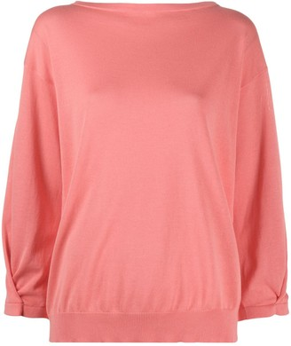 Fabiana Filippi Boat Neck Lightweight Jumper