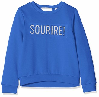 Name It Girl's Nkfnoalle Ls O Neck Sweat Bru Box Sweatshirt