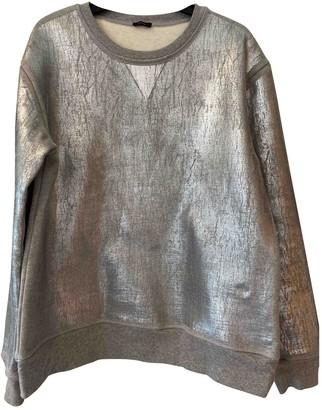 Joseph Silver Cotton Knitwear