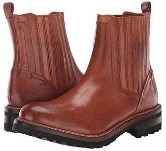 Frye Ella Moto Chelsea (Black) Women's Boots