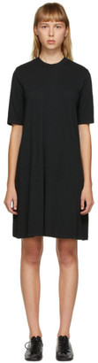 Raquel Allegra Black Jersey Mod Dress