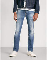 Nudie Jeans Grim Tim faded straight-leg jeans