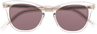 Saint Laurent Eyewear Clear Frame Sunglasses