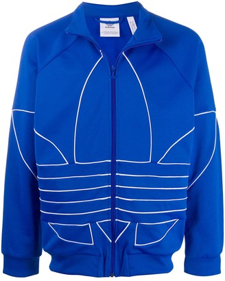 adidas Big Trefoil Outline track jacket