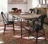 Pottery Barn Parquet Dining Table