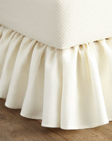 Callisto Home Queen Imperia Linen Dust Skirt