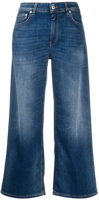 Dondup Avenue high-rise cropped jeans