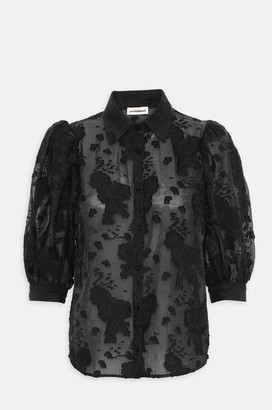custommade Kesa Shirt In Anthracite Black - L
