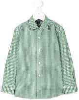 Oscar De La Renta Kids checked shirt