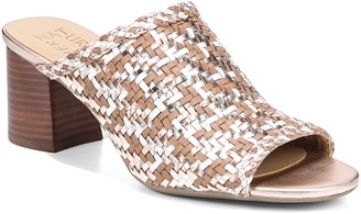 Naturalizer Woven Leather Slide Heels - Analise
