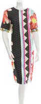 Etro Eyelet Floral Print Dress w/ Tags