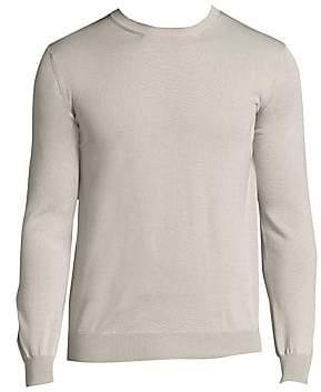 Eleventy Men's Merino Wool & Silk Fine Gauge Cardigan Sweater