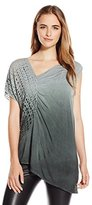 Poleci Women's Top with Perforated Side Panel