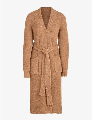 SKIMS Ladies Blue Cozy Knitted Robe, Size: XXS/XS