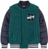 Tommy Hilfiger Bi-material bomber jacket