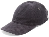 Ami Logo-embroidered cotton-corduroy cap