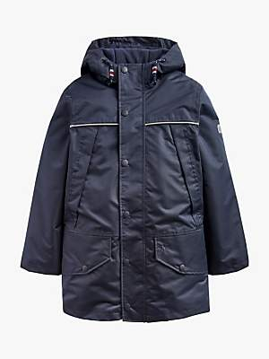 Joules Little Joule Boys' Playground Coat, Navy