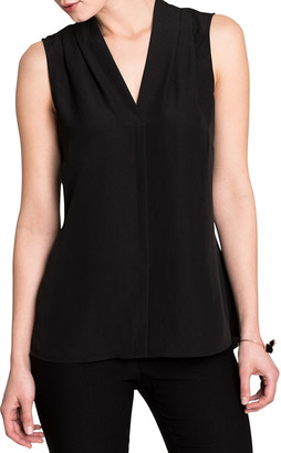 Nic+Zoe Petite Easy Day To Night V-Neck Sleeveless Top