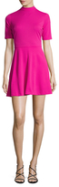 Alexia Admor Short Sleeveless Mockneck Dress
