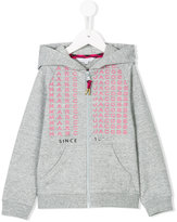 Little Marc Jacobs logo printed hoodie