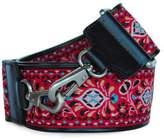 Sorial Red Floral Guitar-Strap
