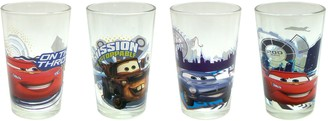 R Squared Disney Cars Juice Glass 8-Ounce Set of 4