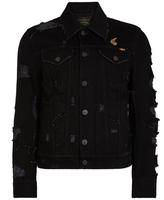 Vivienne Westwood Anglomania New D.Ace Jacket Black Denim Size S