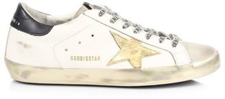 Golden Goose Men's Superstar Leather Sneakers
