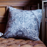 Andrew Martin Argent Charcoal Cushion