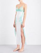 Marjolaine Caprise long silk chemise