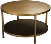 Jamie Young Company Alloy Coffee Table, Antique Brass Metal