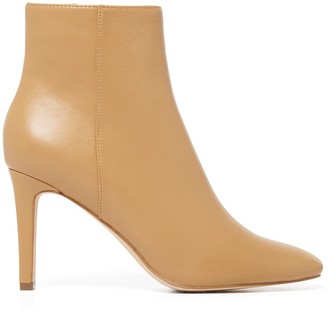 Forever New Grace Square-Toe Boots - Nude - 36