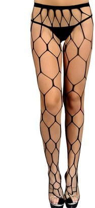 Other Sexy Wide Fencenet Hexagonal Fashion Tights Halloween Fancy Dress Witch Stripper