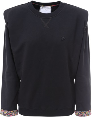 Philosophy di Lorenzo Serafini Shoulder-Detailed Sweatshirt