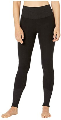 Alo High Waist Lounge Leggings (Black 1) Women's Casual Pants