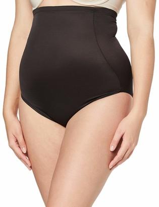 Naomi & Nicole Women's Culotte Gainante Taille Haute Noire-Unbelievable Comfort Waist Shapewear