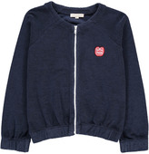 Hundred Pieces Super Fresh Towelling Sweatshirt with Zip