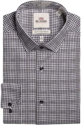 Ben Sherman Slim-Fit Wrinkle-Free Dress Shirt