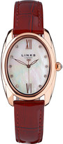 Links of London Bloomsbury oval stainless steel watch